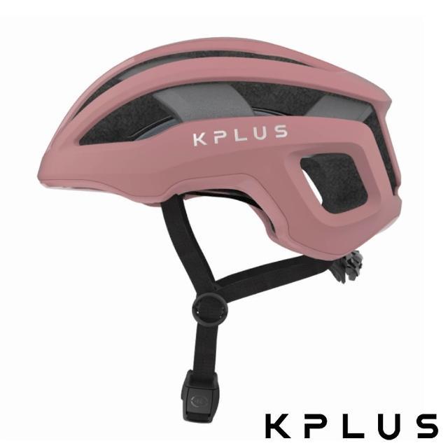 【KPLUS】單車安全帽S系列公路競速360度全視角反光警示系統NOVA Helmet-沙漠玫瑰粉