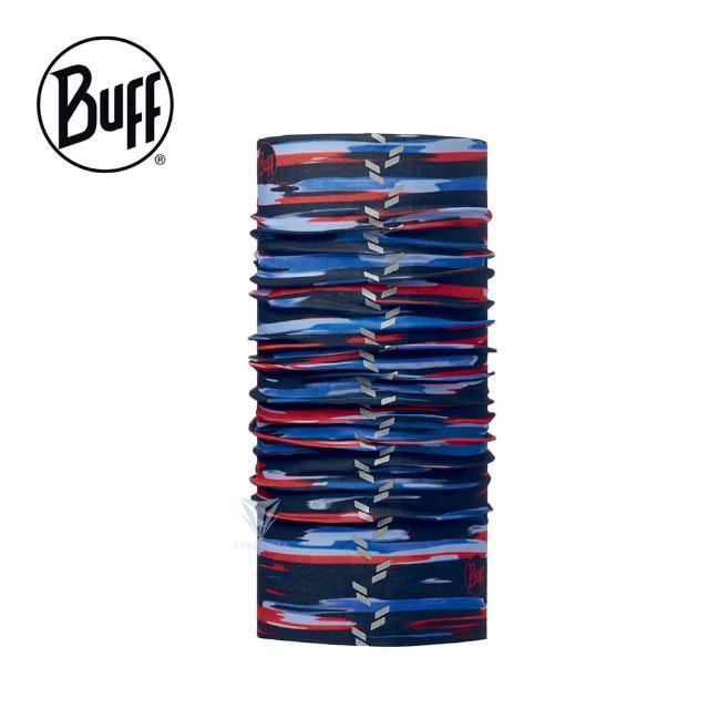 【BUFF】BF113112 經典反光頭巾 - 油彩印象(BUFF/反光頭巾/吸濕排汗)