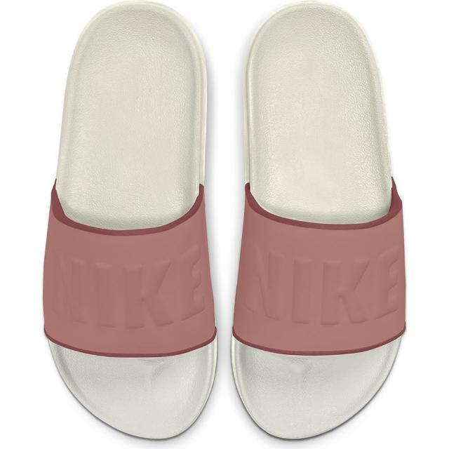 【NIKE 耐吉】拖鞋 女鞋 運動 WMNS OFFCOURT SLIDE 粉(BQ4632104)