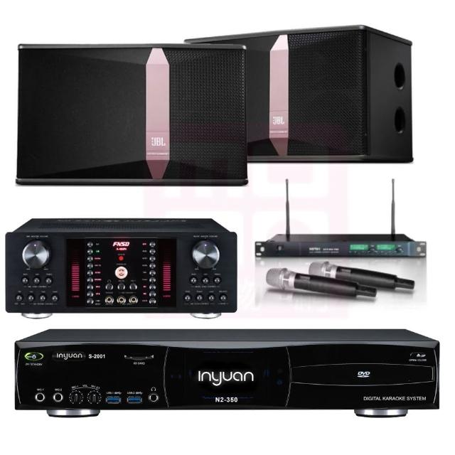 【音圓】點歌機4TB+擴大機+無線麥克風+喇叭(S-2001 N2-350+A-450+ACT-869PRO+JBL Ki512)