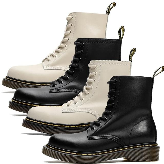【Sp house】經典佳人內增高圓頭粗跟真牛皮個性短靴(4色可選)