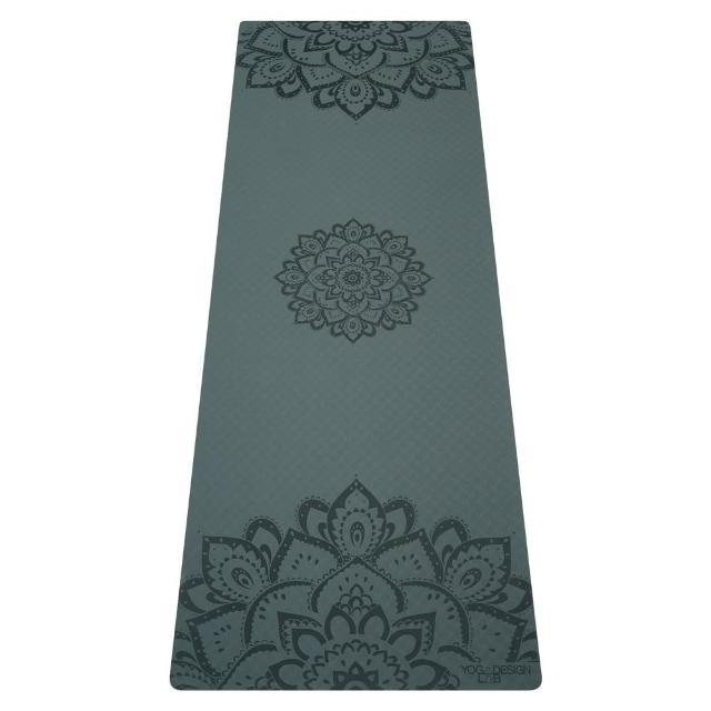 【Yoga Design Lab】Flow Mat TPE環保瑜珈墊 6mm - Charcoal(TPE瑜珈墊)