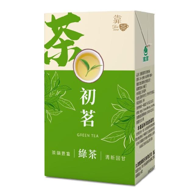 【波蜜】靠茶初茗綠茶250ml(24入/箱)