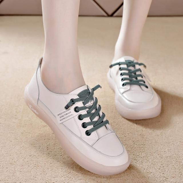 【LN】現+預 韓版牛筋軟底小白鞋(軟底/休閒/百搭/小白鞋)