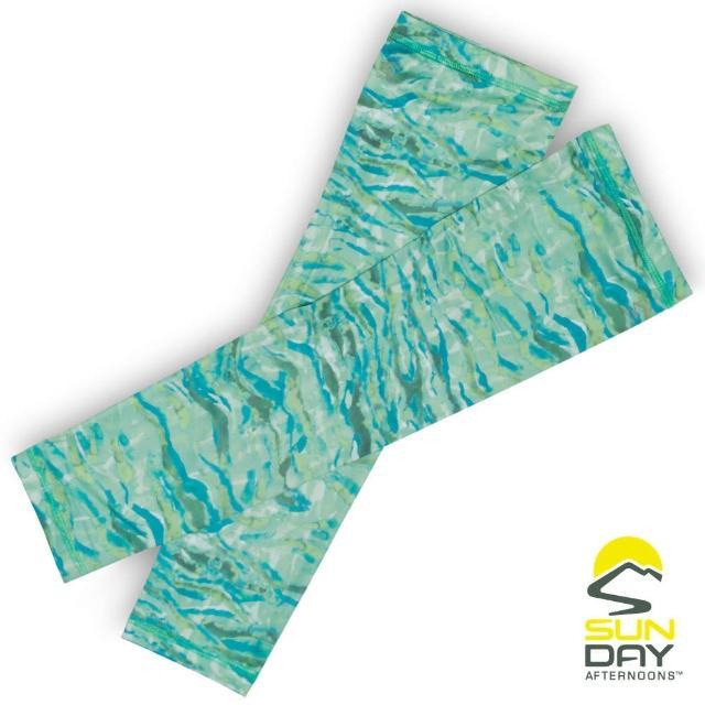 【BUFF】抗UV透氣涼感袖套 手腕 河川倒映 UVShield Cool Sleeves(SAS2A64649B-729/防曬/遮陽)