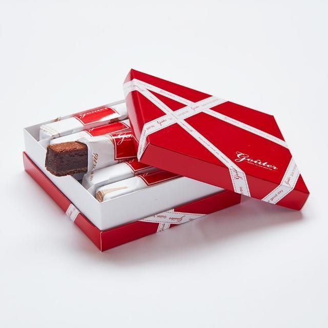 【雅培米堤】真巧巧克力禮盒-6入(|巧克力蛋糕|巧克力條|下午茶|點心|伴手禮)