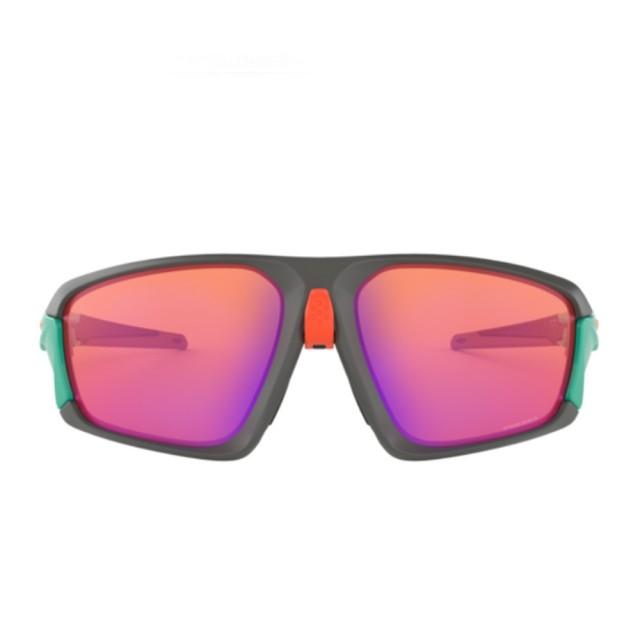 【Oakley】Field Jacket 桃色漸層鏡片運動太陽眼鏡(9402-0464)