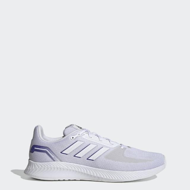 【adidas 愛迪達】Adidas Runfalcon 2.0 男 慢跑鞋 運動 休閒 健身 輕量 穩定 透氣 網眼 淺紫(FY9626)