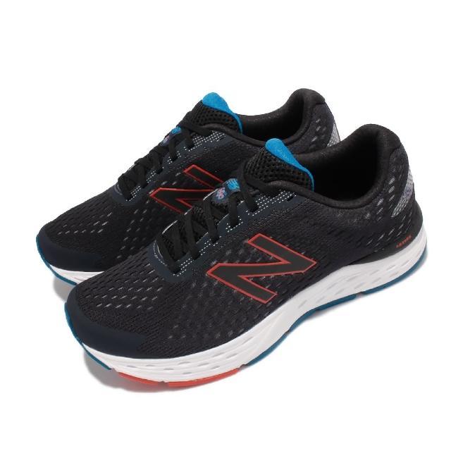 【NEW BALANCE】慢跑鞋 680 V6 Wide 寬楦 男鞋 紐巴倫 路跑 緩震 耐磨膠底 藍 白(M680RK6-2E)