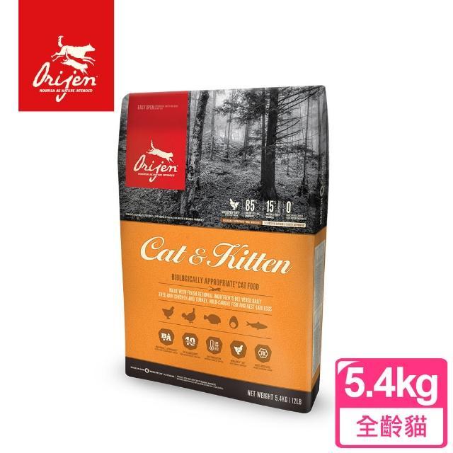 【Orijen 渴望】鮮雞愛貓 5.4KG