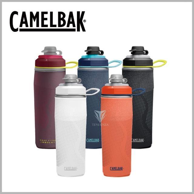 【CAMELBAK】500ml Peak Fitness運動保冰噴射水瓶(運動水壺)