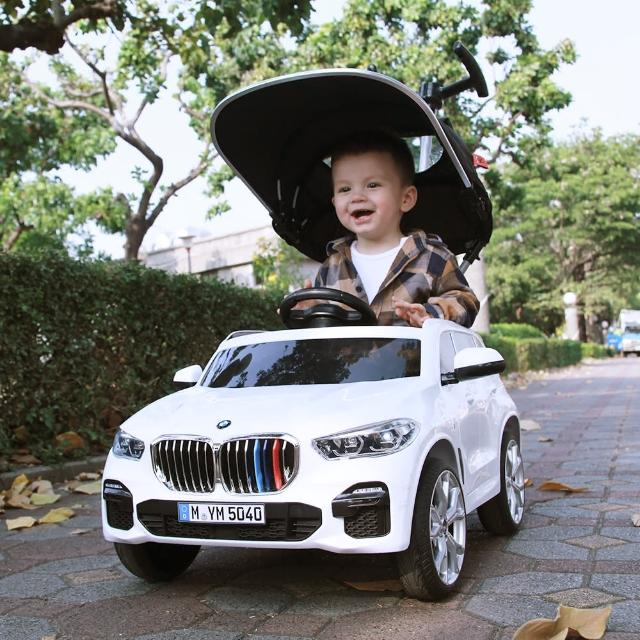 【i-smart】BMW X5 Push Car 嬰幼兒手推車(台灣正版代理)