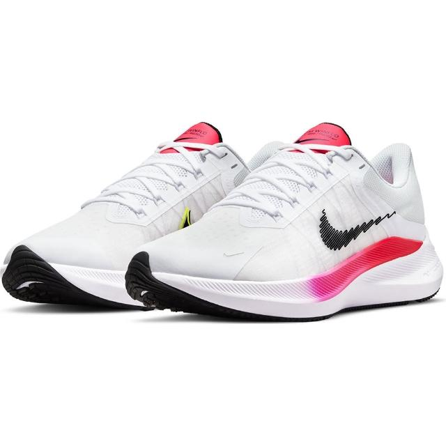 【NIKE 耐吉】慢跑鞋 男鞋 運動鞋 緩震 ZOOM WINFLO 8 白 CW3419-100