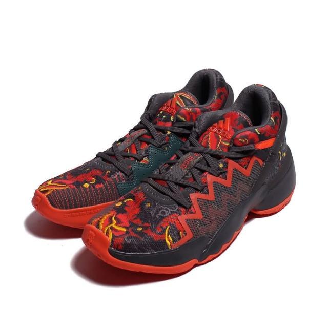 【adidas 愛迪達】Adidas D.O.N. Issue 2 GCA 男款灰橘色運動籃球鞋-NO.FX7432