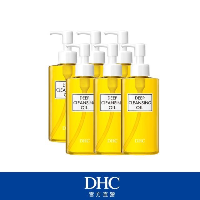 【DHC】深層卸粧油200ml-6入組合(天然橄欖精華油)