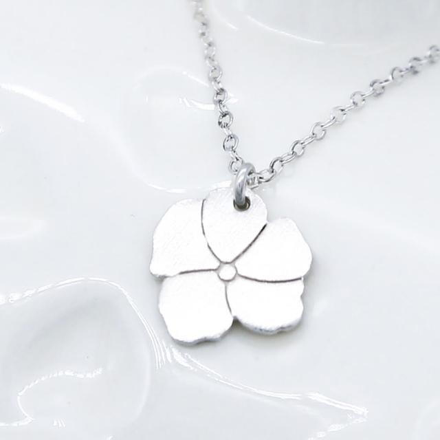 【Dogeared】花朵銀項鍊