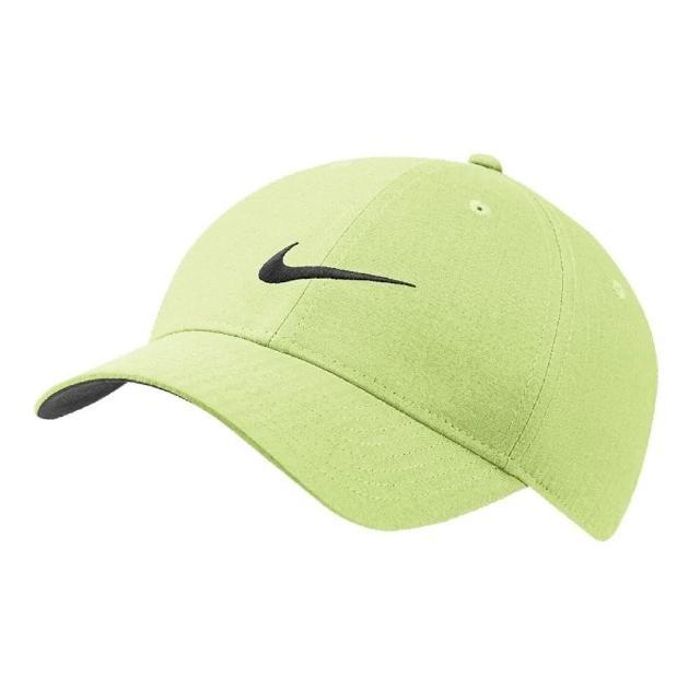 【NIKE 耐吉】遮陽帽 Legacy 91 Tech Cap 男女款 高爾夫球帽 排汗 帽圍可調 基本款 綠 黑(BV1076-736)