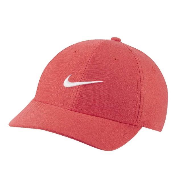 【NIKE 耐吉】遮陽帽 Legacy 91 Tech Cap 男女款 高爾夫球帽 排汗 帽圍可調 基本款 紅 白(BV1076-631)