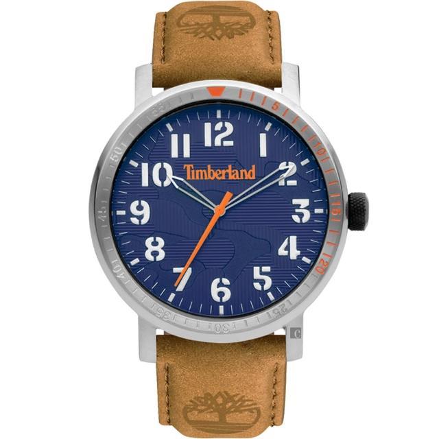 【Timberland】天柏嵐 都會時尚大三針手錶-44mm(TDWGA2101604)