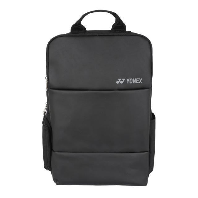 【YONEX】Yonex Backpack 後背包 雙肩背帶 羽網拍 運動 休閒 水壺層 筆電層 黑(BA82012XEX007)