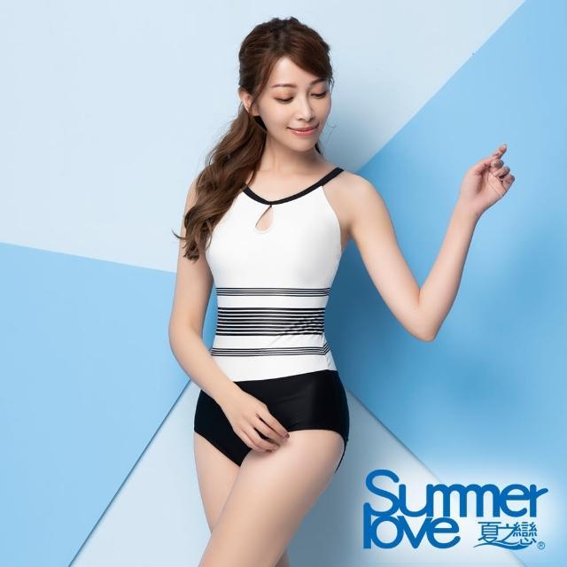 【Summer Love 夏之戀】泳裝 大女連身三角泳衣(E21703)