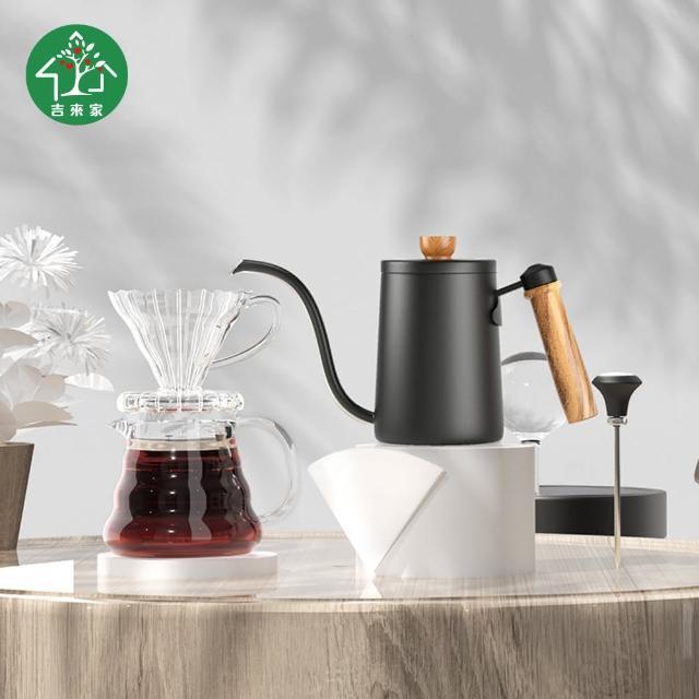 【吉來家】經典禮盒手沖咖啡套裝五件組(生日禮物/特別禮物/咖啡相關禮品)