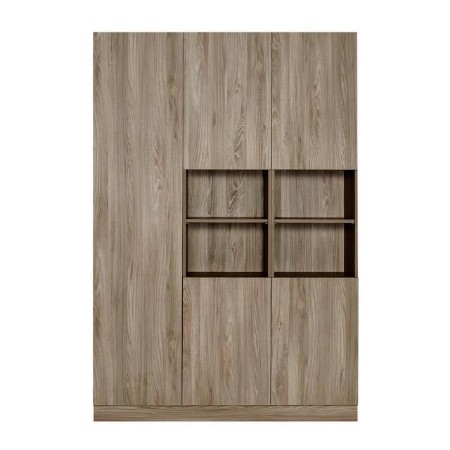 【Arkhouse】伯利恆系列-餐廳五門十八格三高櫃E款W150*H218*D40