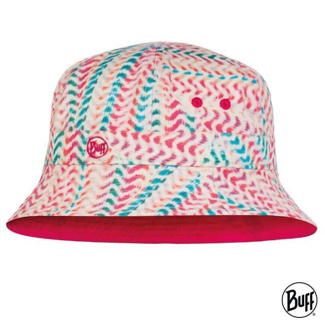 【BUFF】可收納兒童漁夫帽-活力迴圈(BF120042-555/防曬帽/遮陽帽)