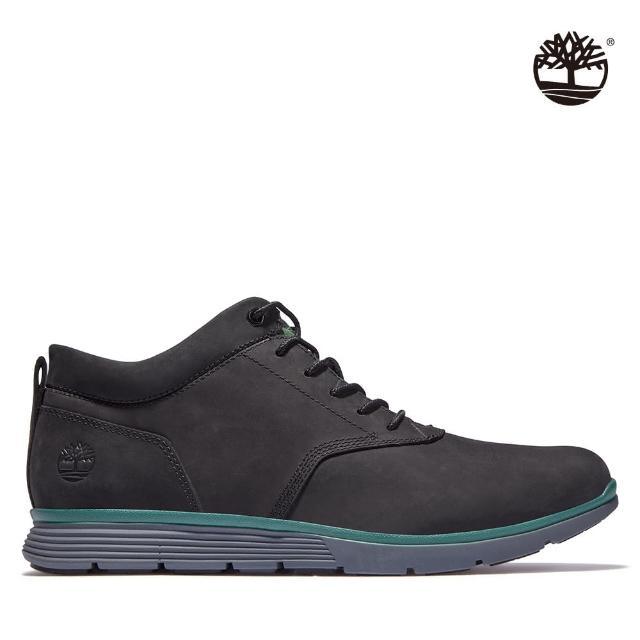 【Timberland】男款黑色Killington磨砂革休閒鞋(A25QF001)