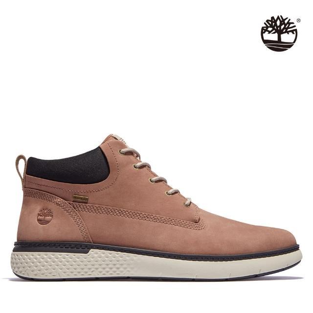 【Timberland】男款淺咖啡色磨砂革GORE-TEX查卡鞋(A2GRXD69)
