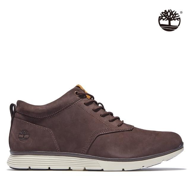 【Timberland】男款深棕色Killington磨砂革休閒鞋(A25Q6V13)