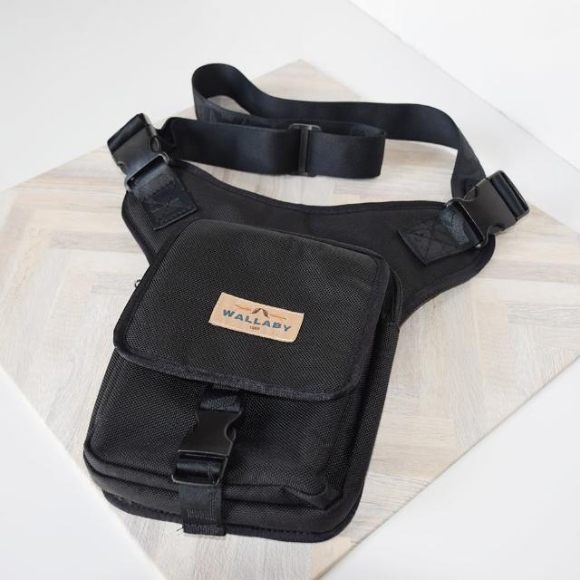 【WALLABY】袋鼠牌 台灣製造 騎行腿包 腰包 肩包 重機大腿包 騎士腰掛包 摩托車腿掛包 三用式大腿包