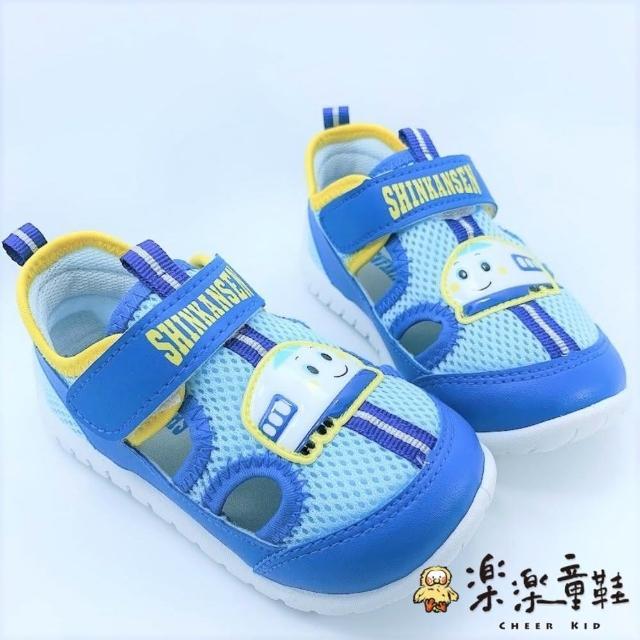 【樂樂童鞋】台灣製三麗鷗新幹線涼鞋-K012(涼鞋 休閒鞋 寶寶鞋 男童鞋 學步鞋)