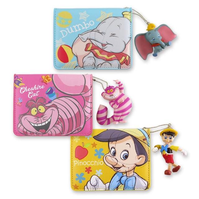 【Disney 迪士尼】Disney迪士尼公仔吊飾證件套(迪士尼)