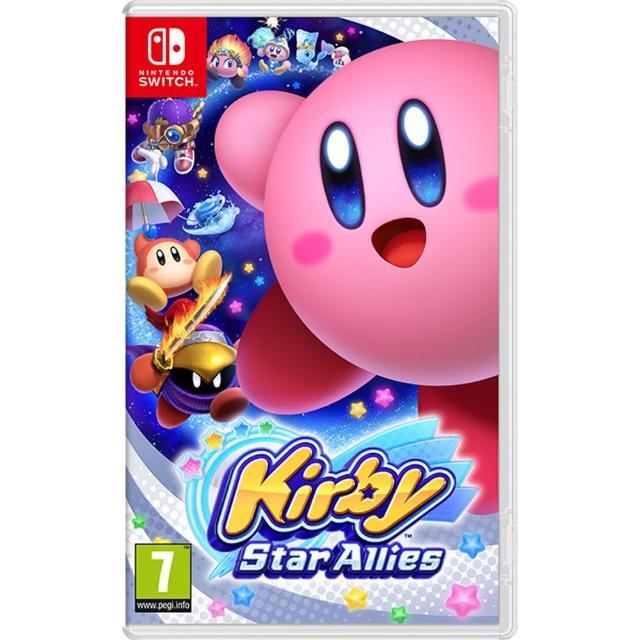 【Nintendo 任天堂】Switch遊戲 星之卡比 新星同盟 卡比之星(國際外盒版 支援中文)