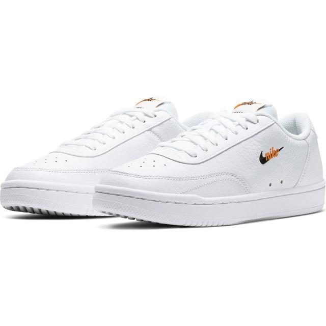 【NIKE 耐吉】休閒鞋 女鞋 WMNS COURT VINTAGE PRM 運動 皮革 白 CW1067100