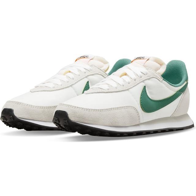 【NIKE 耐吉】休閒鞋 女鞋 運動鞋 W WAFFLE TRAINER 2 白綠 DA8291-001