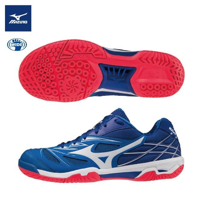 【MIZUNO 美津濃】WAVE FANG NX 寬楦羽球鞋 71GA205022(羽球鞋)