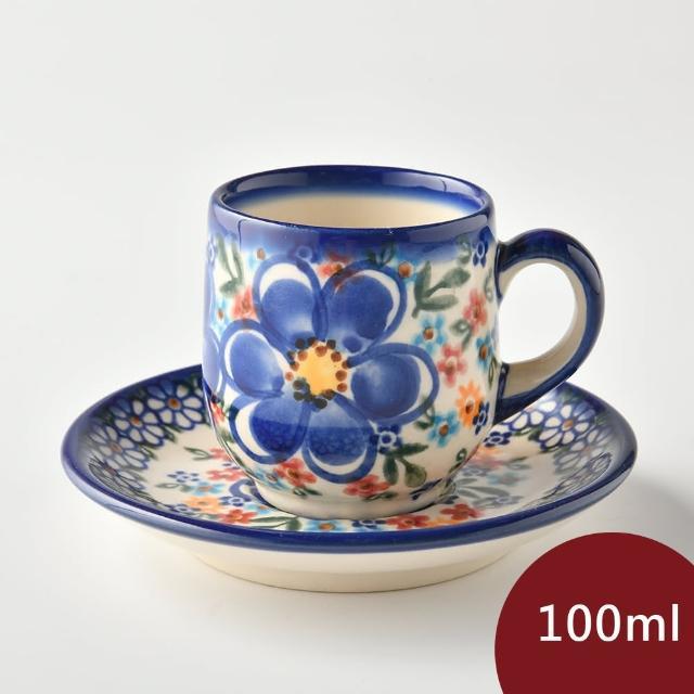 【波蘭陶】春遊系列 濃縮咖啡杯盤組 100ml