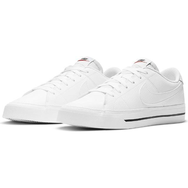 【NIKE 耐吉】休閒鞋 NIKE COURT LEGACY 男鞋 白(CU4150100)