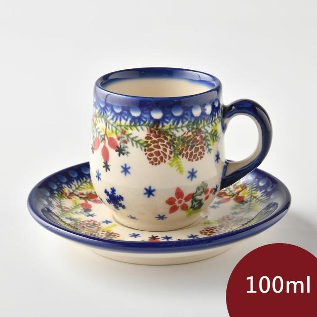 【波蘭陶】初春遊樂園系列 濃縮咖啡杯盤組 100ml
