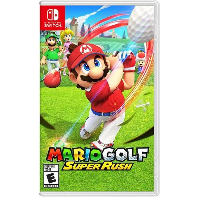 【Nintendo 任天堂】Switch遊戲 瑪利歐高爾夫 超級衝衝衝(國際外盒版 支援中文)