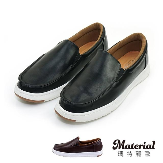 【MATERIAL】男鞋 知性皮感懶人鞋 MA女鞋 T26651(懶人鞋)