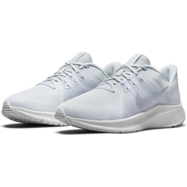 【NIKE 耐吉】慢跑鞋 女鞋 運動鞋 緩震 WMNS QUEST 4 淺藍 DA1106-100