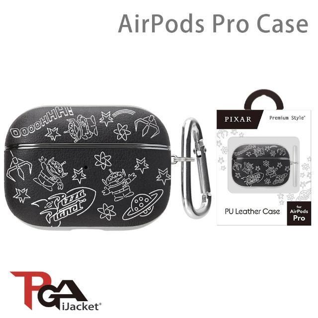 【iJacket】玩具總動員 AirPods Pro 箔押皮革 質感保護殼(三眼怪)