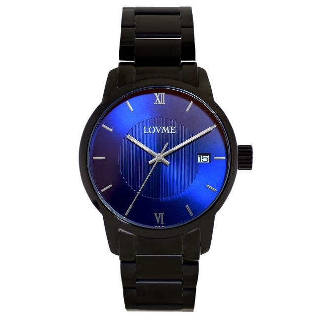 【LOVME】072紳士質感不鏽鋼日期手錶(VS0072M-33-L21)