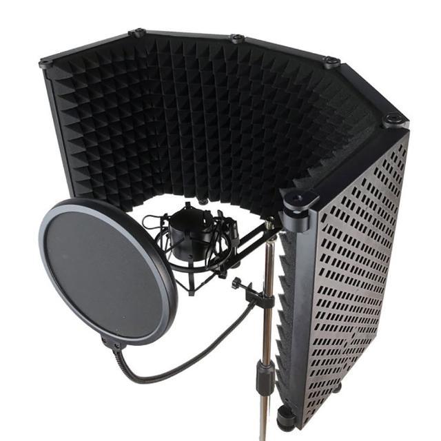 【JYC】輕量級DR-50S麥克風隔音門套裝組-嚴選ABS五門款/含防風罩及防震架(DR-50S麥克風隔音門)