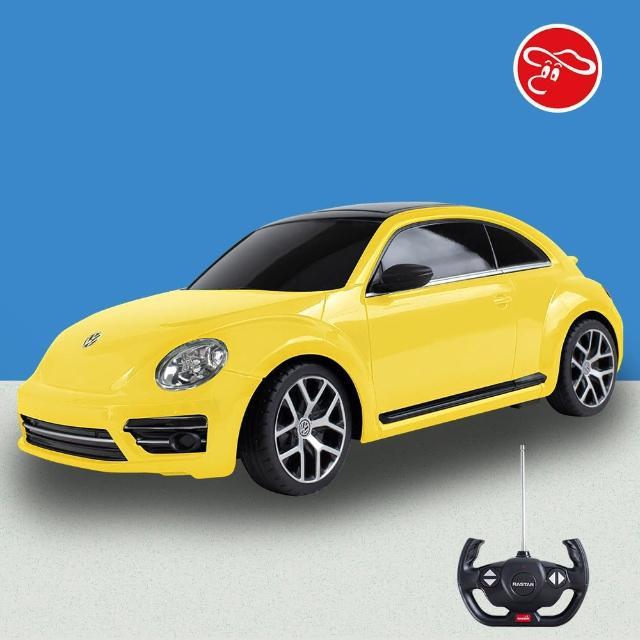 【VW 福斯】[瑪琍歐玩具] 1:14 Volkswagen Beetle 遙控車/78000(原廠授權)
