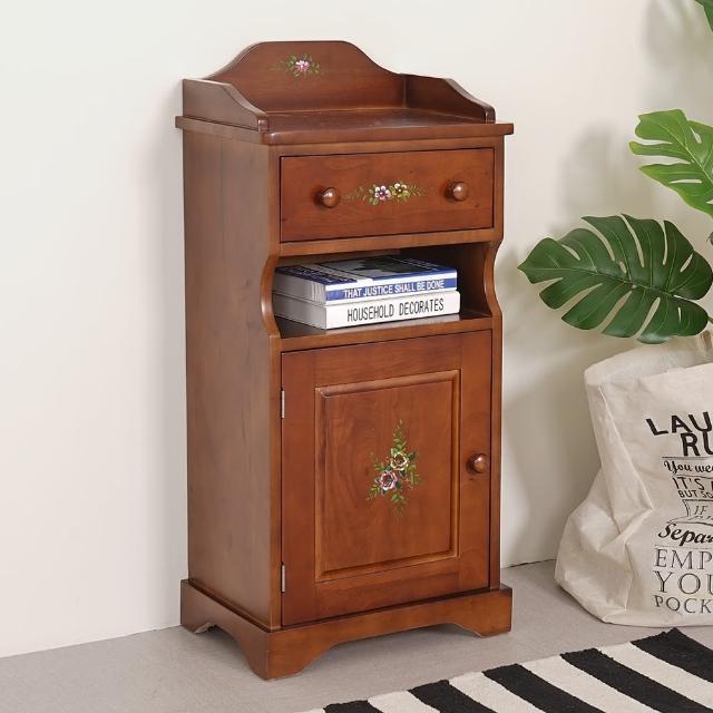 【Homelike】夏里園實木單抽玄關櫃