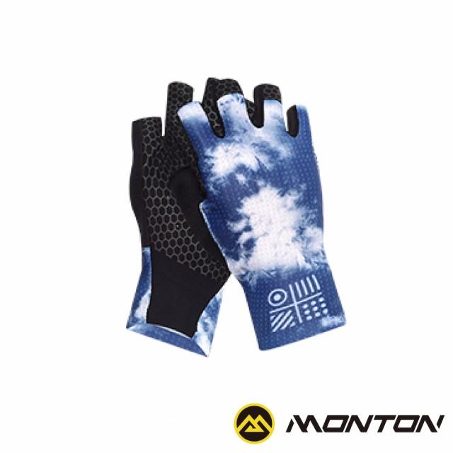 【MONTON】WINTER冬天短指手套(自行車手套/單車手套/半指手套)